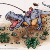 m_blacke_dinosaur ride
